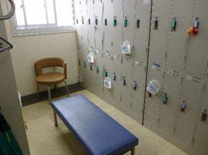 患者様更衣室